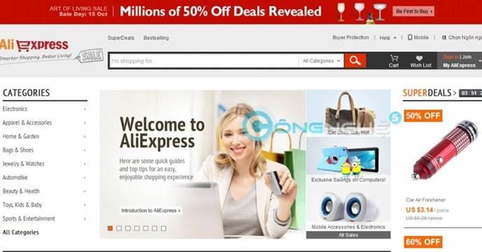 Aliexpress.com - mua hàng từ trung quốc giá rẻ online