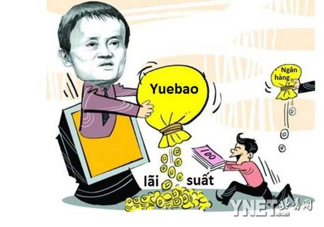 Yuebao - Ví tiền trực tuyến tự đẻ ra tiền