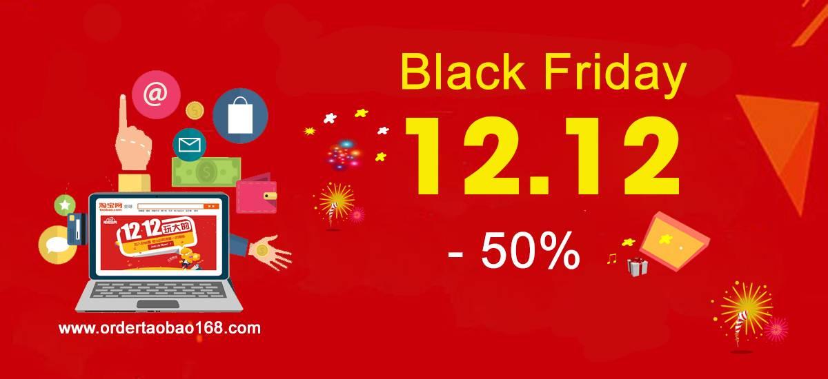 Khuyến mãi giảm tới 50% phí dịch vụ cho mỗi đơn hàng tại ordertaobao168.com