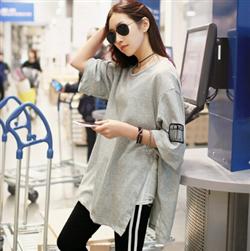 T-shirt Dongguk áo thun nữ form rộng